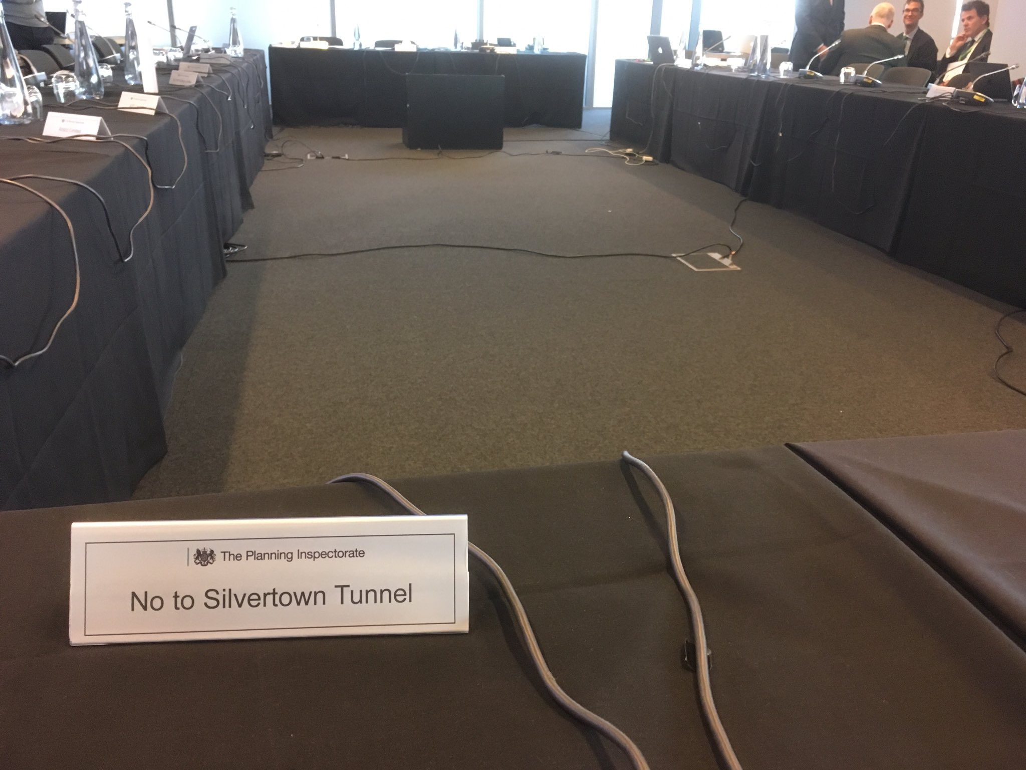 We're back at the Silvertown Tunnel public examination - this time at the Crystal in the Royal Docks. https://t.co/LxqymB8A6N https://t.co/4iqFyHxLSy