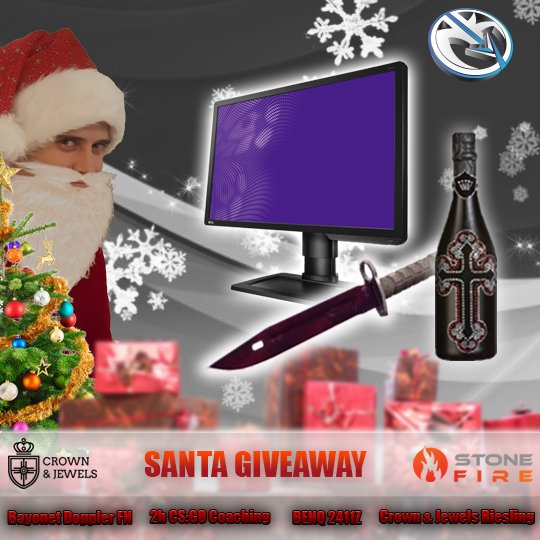 Santa nooky am Start mit geilem Shit für die Cookie-Community :) - <3 @stonefireio für den Support - retweet & like http://bit.ly/nooky_raffle_dec…
