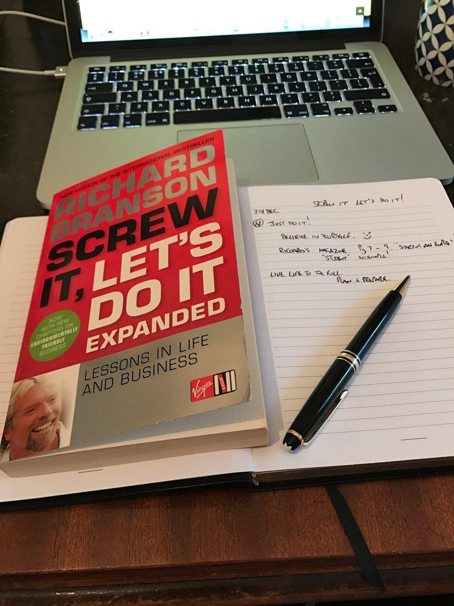 Screw It Lets Do It Book