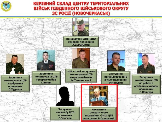 According to Ukrainian military intelligence, Russian colonel Galitskiy killed in Syria used to serve in Russia's Ukraine war HQ in Rostov