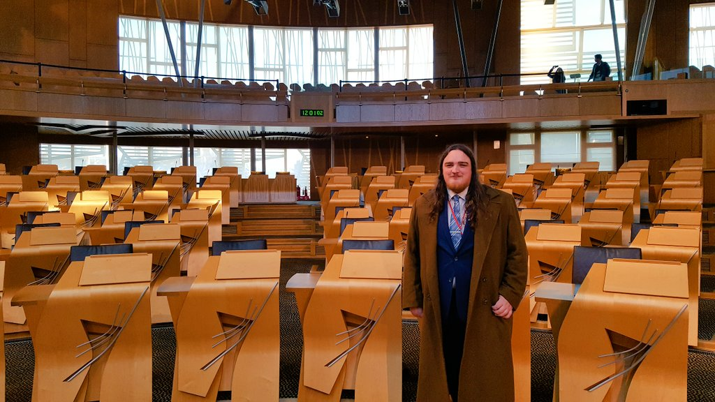 My first day working in the Scottish Parliament! #MSPstaffevent https://t.co/vM5xodWA4f