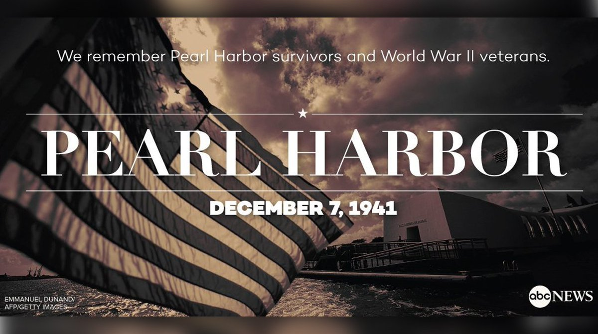 We remember and honor those who lost their lives 76 years ago today in the Attack on Pearl Harbor. #PearlHarbor76 https://t.co/DS1Ul3idwN