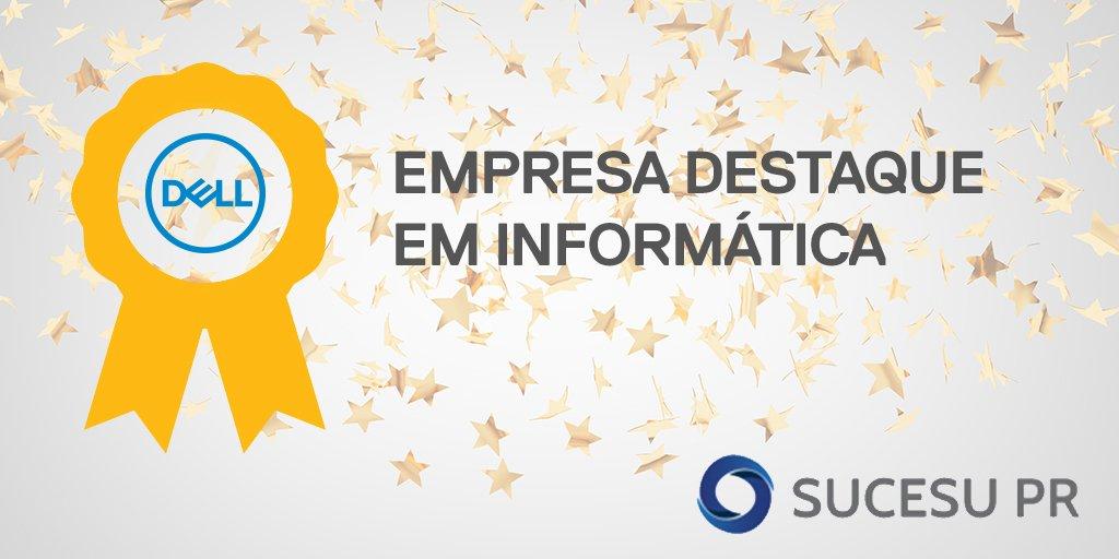 Estamos muito felizes por termos sido reconhecidos com o prêmio de Empresa Destaque em Informática – SUCESU-PR 2016. https://t.co/HgoSTB89Nr