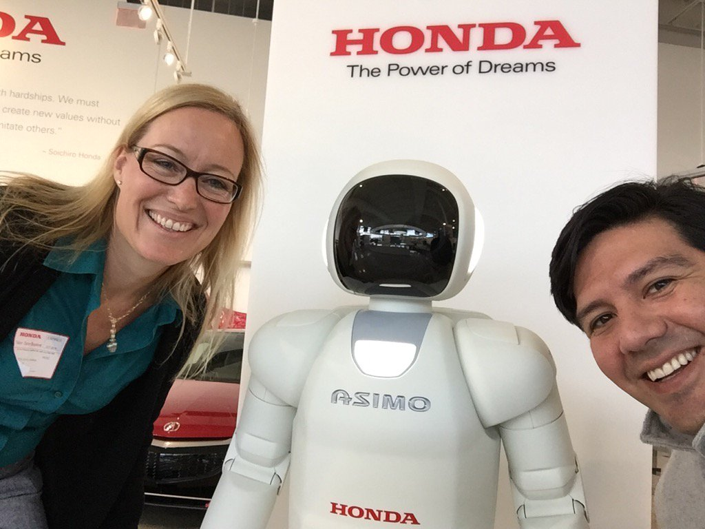 Great day at Honda topped off with a visit to their @HeritageCenter.
