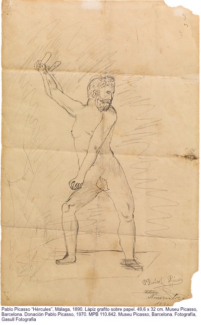 Hèrcules de Picasso