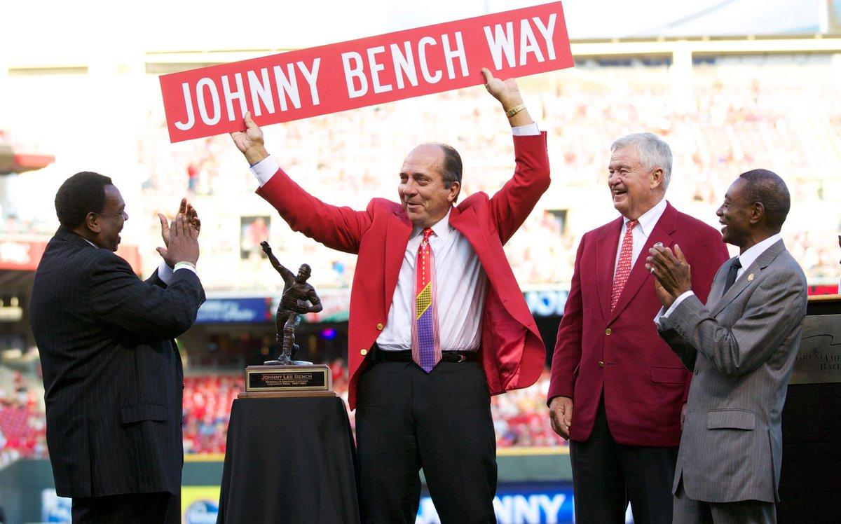 Happy Birthday Hall of Famer @Johnny_Bench5 @reds https://t.co/pZdslqOGNd