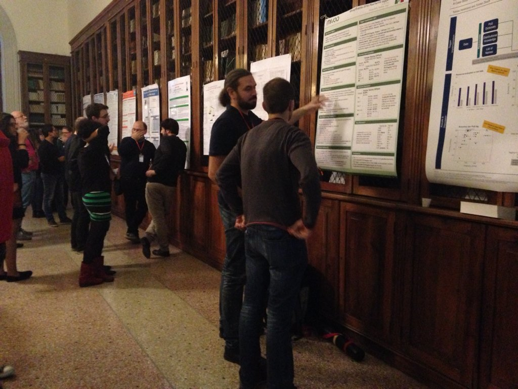 Second poster session #EVALITA2016 https://t.co/ZOhzbMoqDz