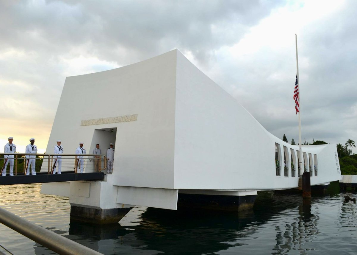 75 years later, Pearl Harbor remains a symbol of American resilience & resolve #PearlHarborRemembranceDay #Hawaii