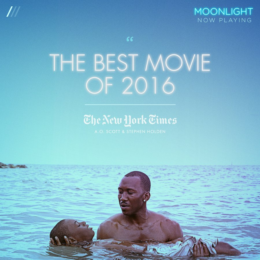 """MOONLIGHT Movie On Twitter: """".@NYTimes' A.O. Scott And"""