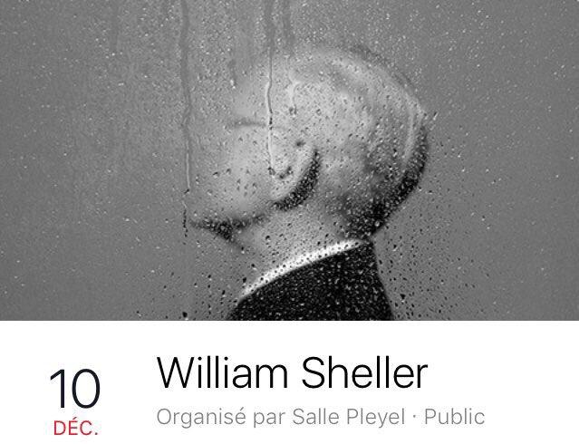 Pour profiter de l'unique et dernier concert parisien de William Sheller, c'est samedi- 20H, à la Salle Pleyel ! https://t.co/MziZThJzQQ