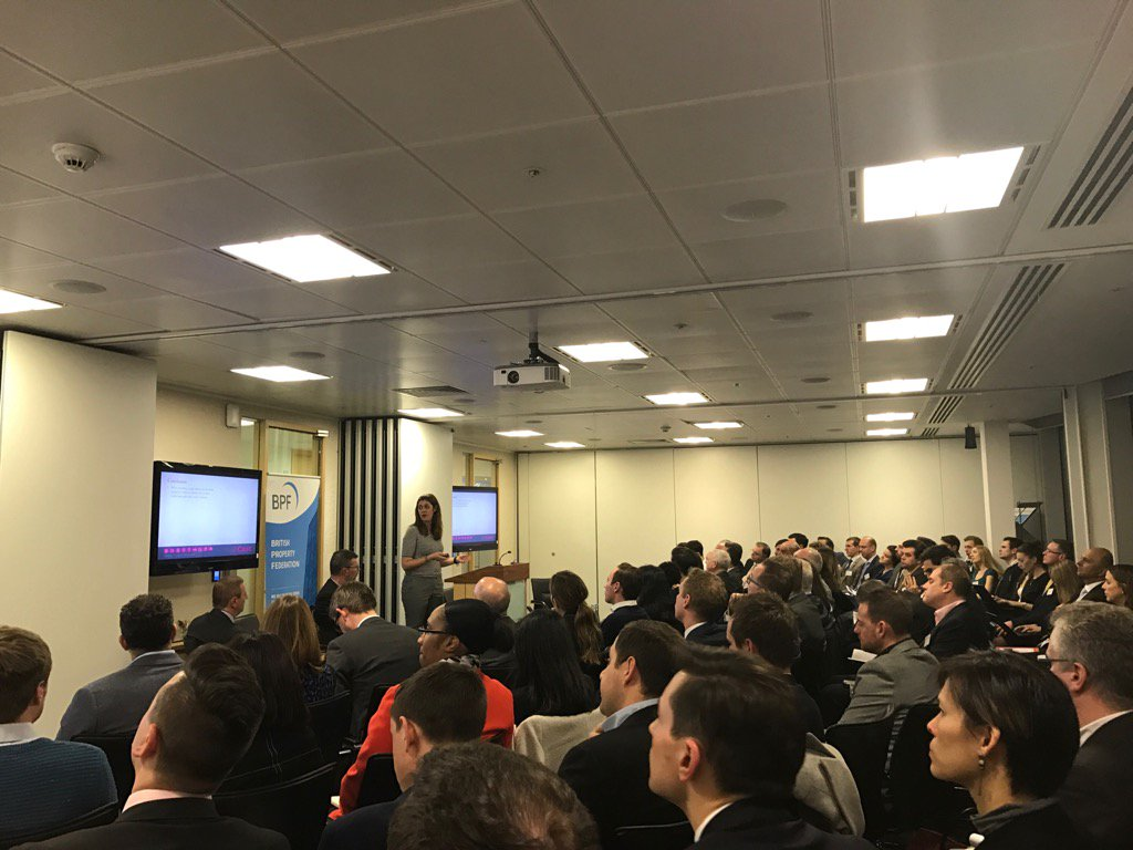 RT @sampeers Full house at the rental space race event here @RSMUK with @BritProp and @Castconsultancy