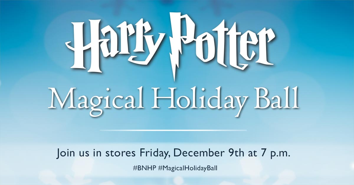 Barnes Noble On Twitter One Of Those Cool Modern People Who Like To Be Reminded To Do Fun Things Our Nationwide Magicalholidayball Invite