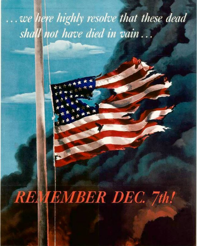 #PearlHarborRemembranceDay  shall not have died in vain  #MAGA #AmericaFirst #tcot