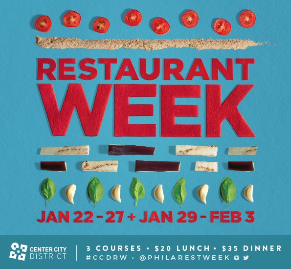 That's right! It's time to start making #CCDRW reservations! Menus+Restaurants are up- https://t.co/zwVcAzILlr https://t.co/vdFyNWndgz