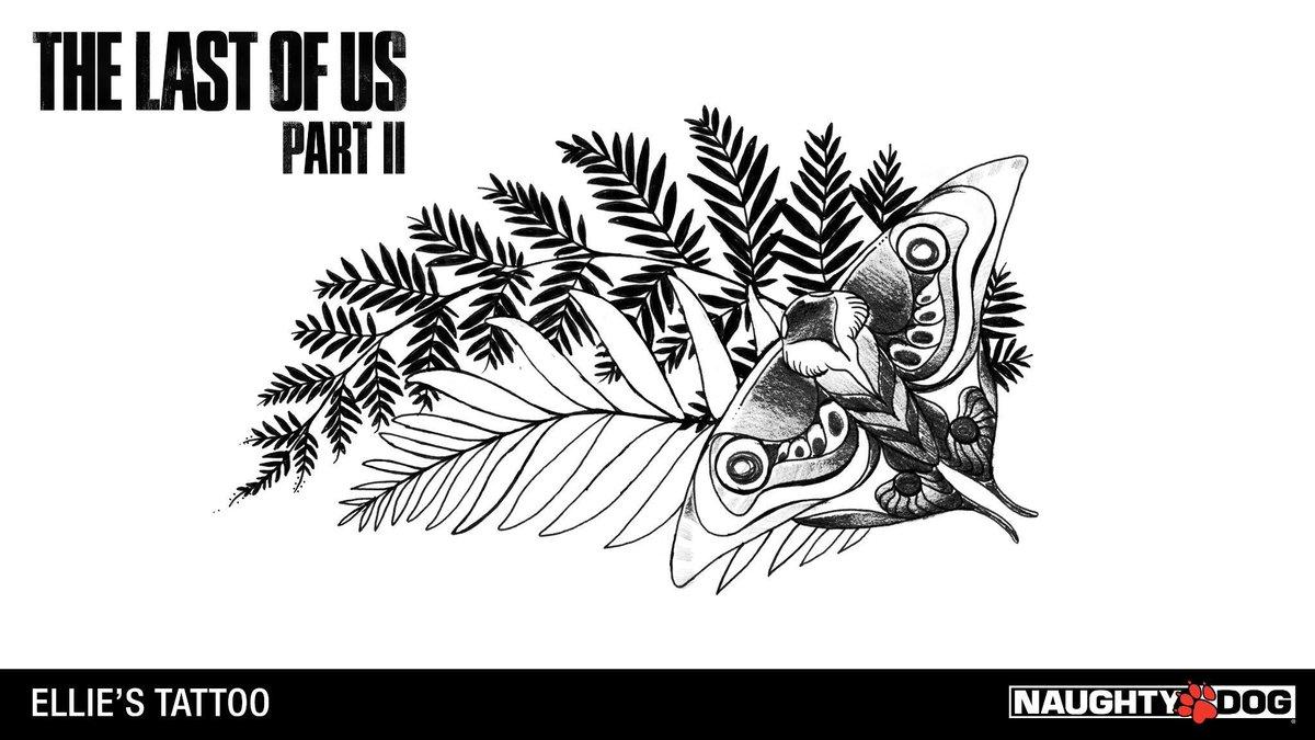 The Last of Us 2 Ellie's Tattoo Art