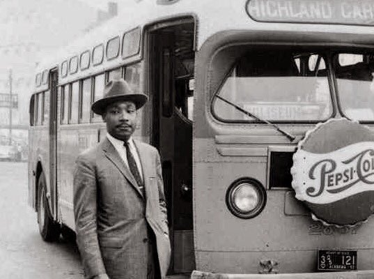 Image result for martin luther king bus boycott