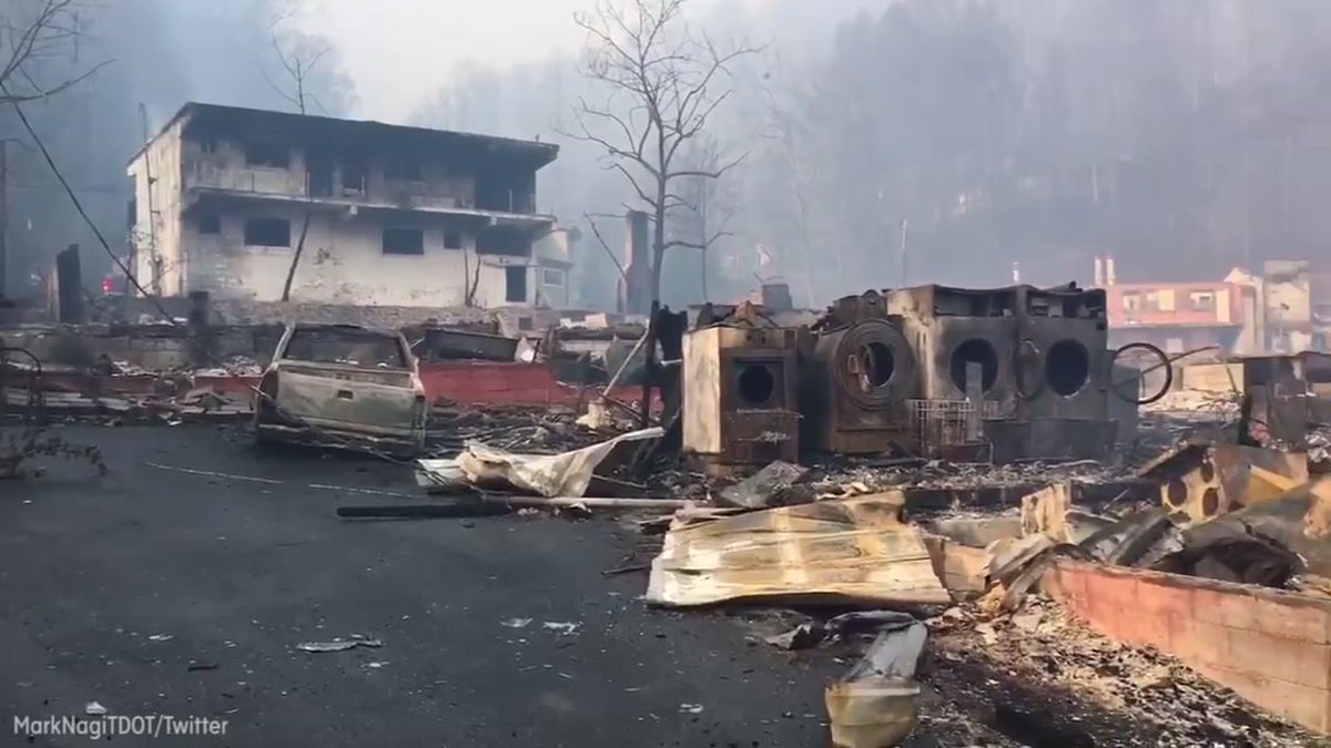 2 juveniles charged in East Tennessee wildfires that killed 14 ABC13