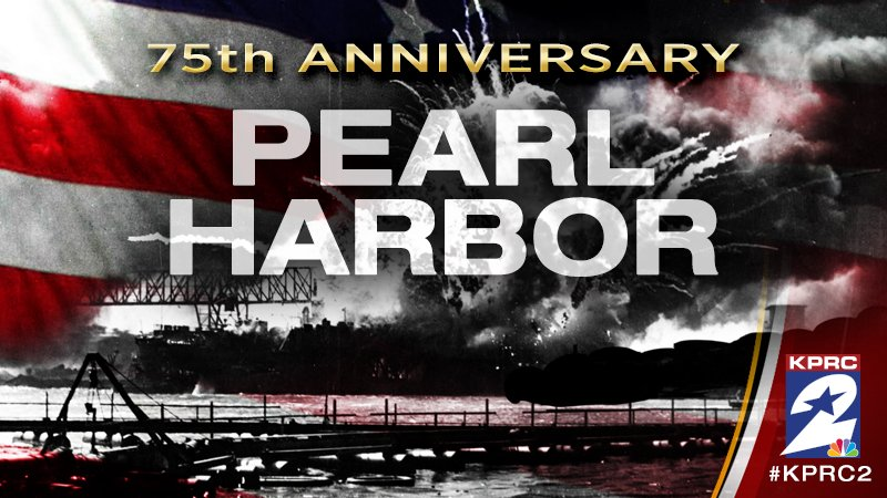 75 years later: Always remember, never forget PearlHarbor. Coverage on KPRC2 &