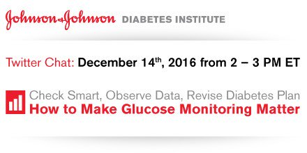 Register for our #twitterchat Wed Dec 14 to discuss how to make #glucose monitoring matter ://