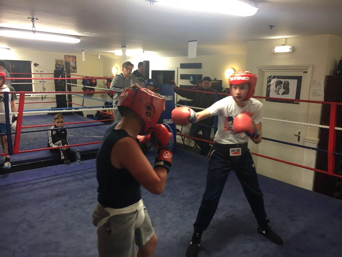 Burton amateur boxing