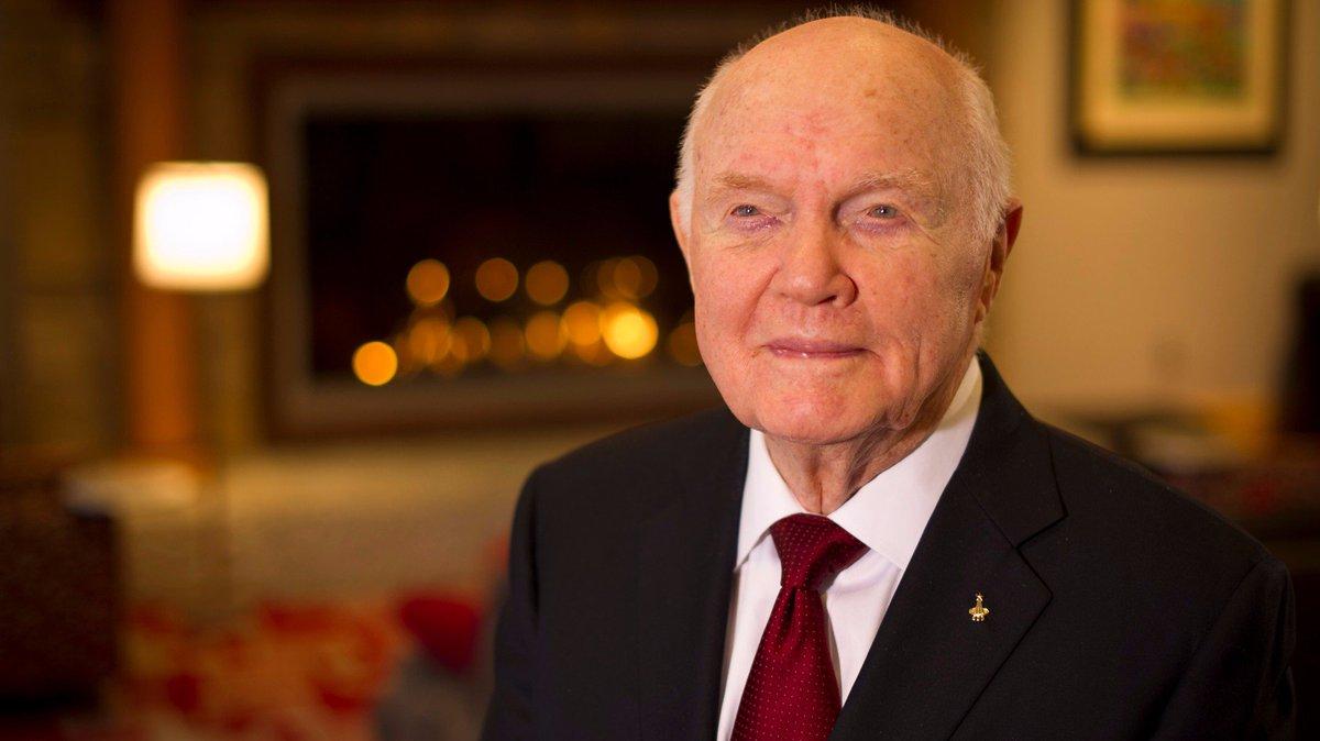 Former astronaut John Glenn hospitalized in Ohio.