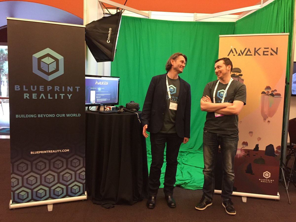 Blueprint reality on twitter our ceo tarrnie and cto blueprint reality on twitter our ceo tarrnie and cto blueprintben at vrx to show off awaken and our mixed reality tech malvernweather Gallery