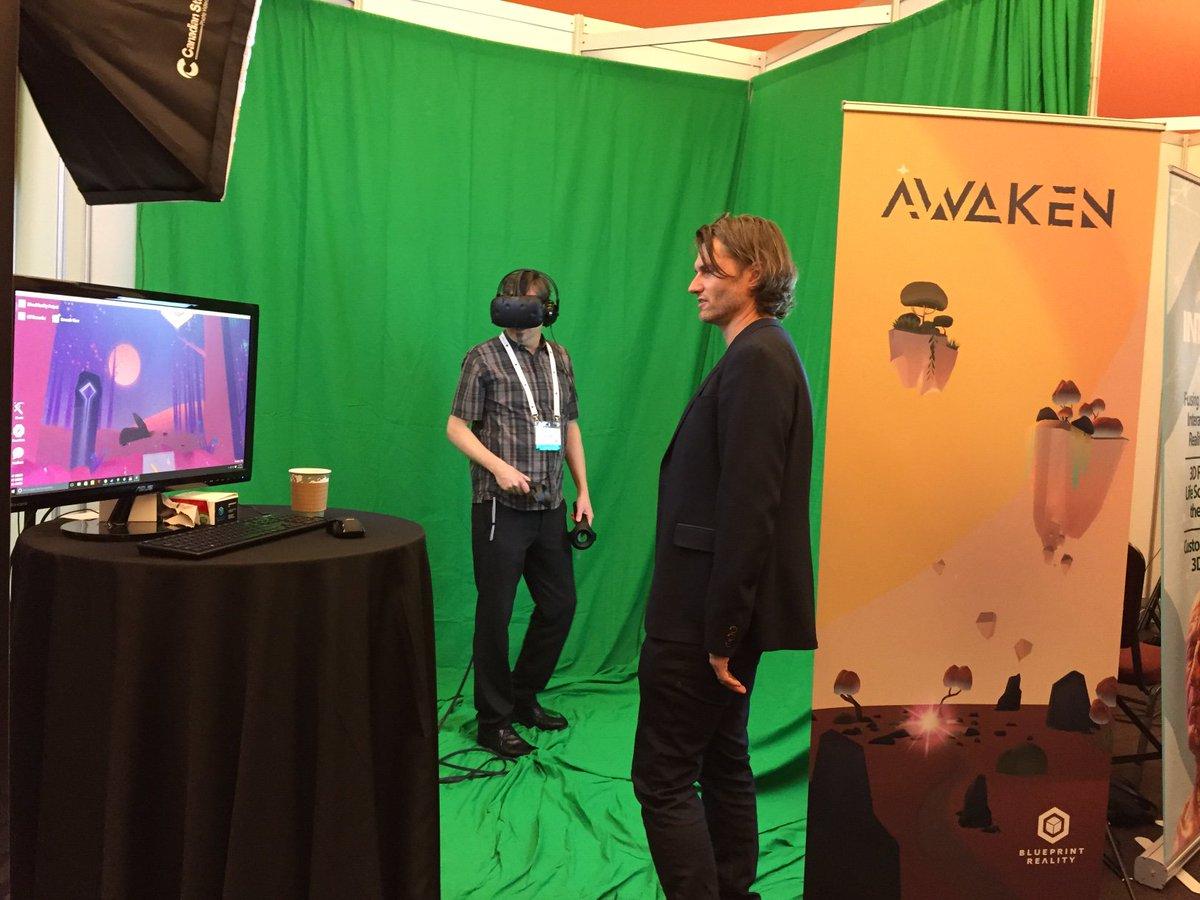 Awaken on twitter blueprint realitys ceo tarrnie shows off awaken on twitter blueprint realitys ceo tarrnie shows off awaken at vrx today and tomorrow vr oculusrift awakengame htcvive malvernweather Images
