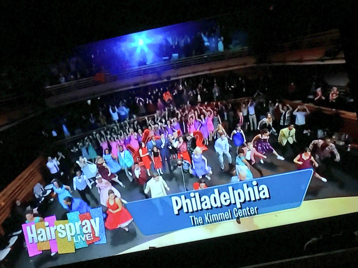 Did you see @KeithJones at our HairsprayLive watch party live on @NBCPhiladelphia !?
