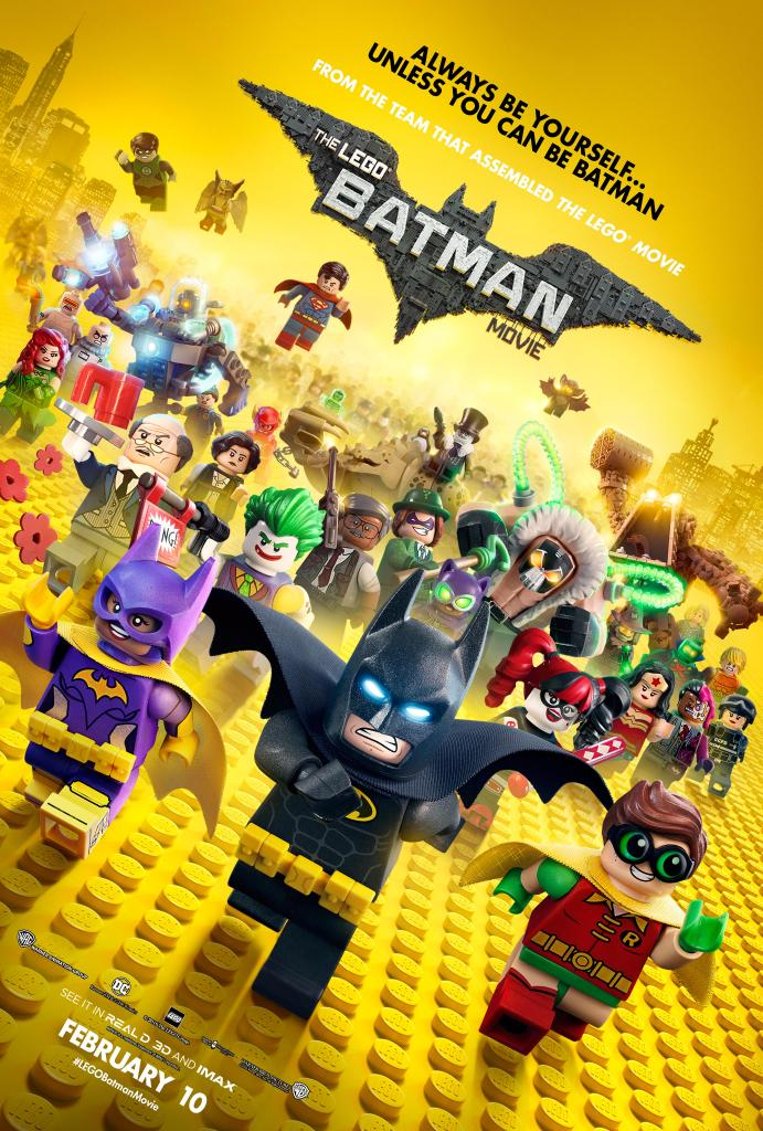 The Lego Batman Movie Characters Assemble