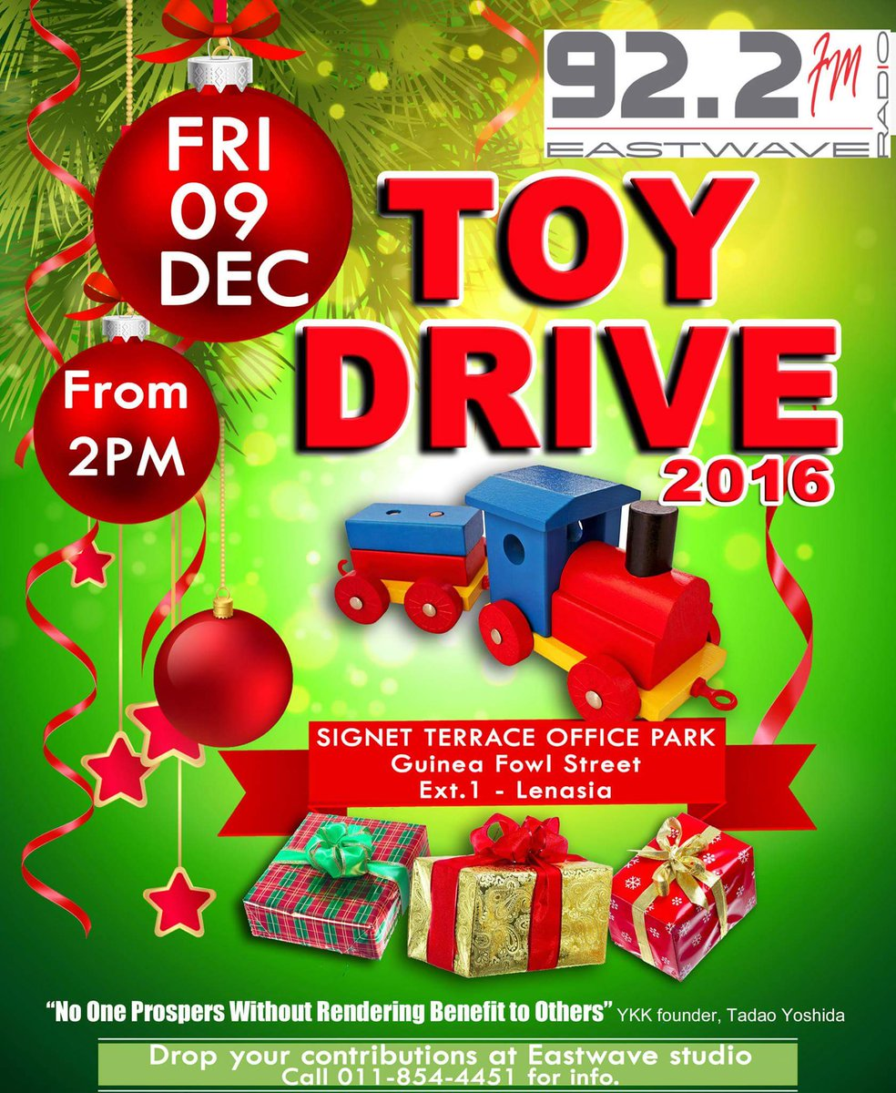 how to run a toy drive