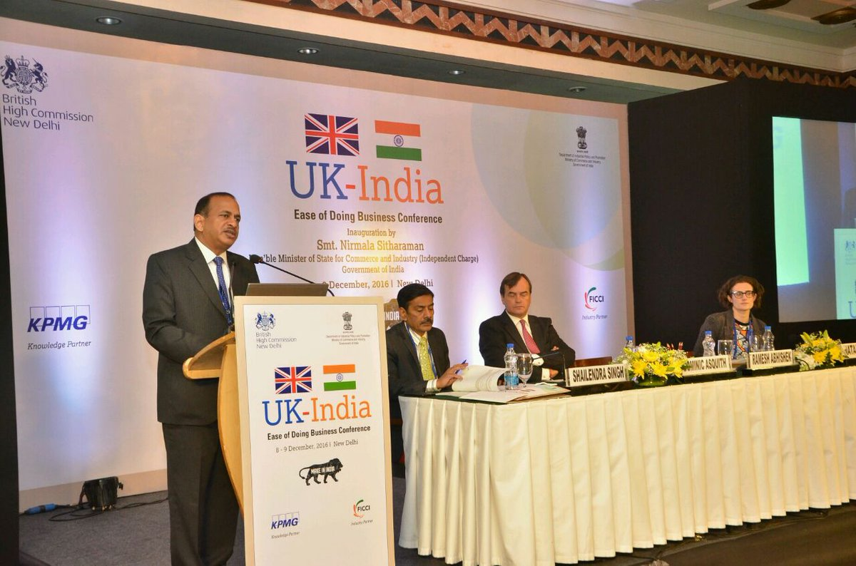 """Key Highlights: """"India-UK"""" Ease of Doing Business Conference Key Highlights: """"India-UK"""" Ease of Doing Business Conference CzIhUxZUoAA0eKM"""
