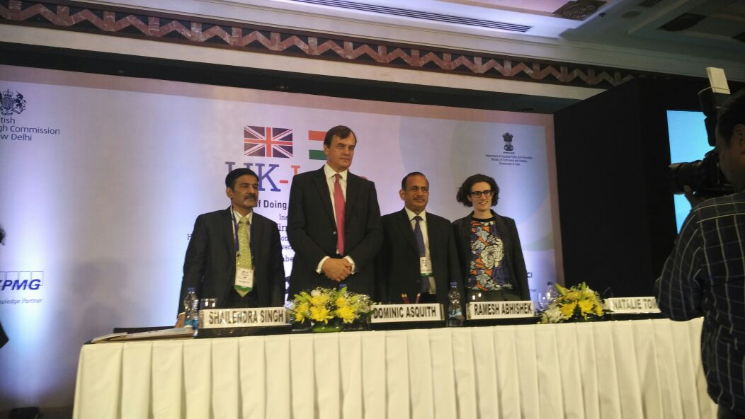 """Key Highlights: """"India-UK"""" Ease of Doing Business Conference Key Highlights: """"India-UK"""" Ease of Doing Business Conference CzIhWeHVEAECcF"""