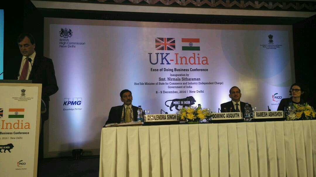 """Key Highlights: """"India-UK"""" Ease of Doing Business Conference Key Highlights: """"India-UK"""" Ease of Doing Business Conference CzIhXURUcAAIhQh"""
