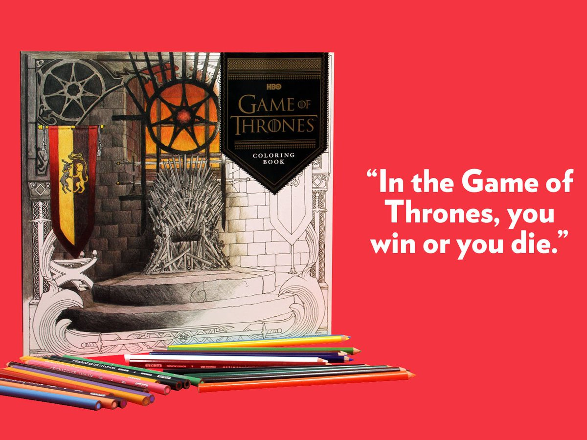 Co coloring book shop - Book Store On Twitter Nbsfinds A Game Of Thrones Coloring Book By Grrmspeaking Available For P875 In National Book Store Https T Co Fmnkqrlpoq