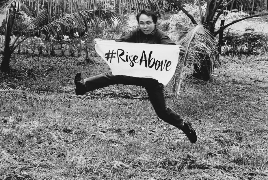 Climate change affects human rights. It is time to #RiseAbove https://t.co/YebXqCQuWj