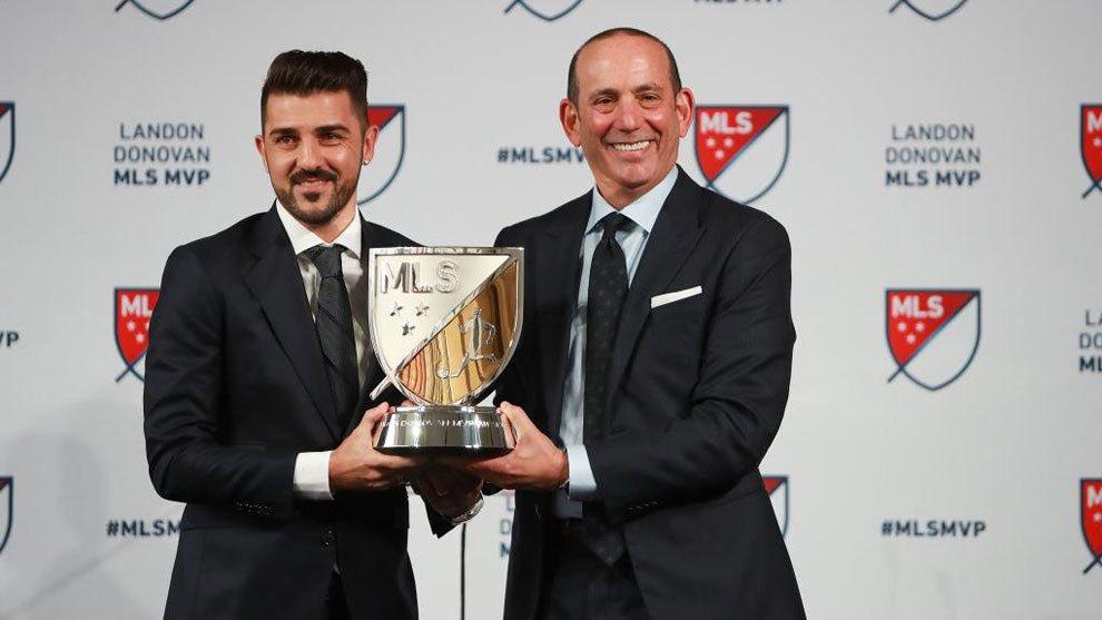 Enhorabuena a mi amigo @Guaje7Villa por ser nombrado el MVP de la @MLS muy merecido crack! Un abrazo! ������ https://t.co/iV591PnvJo