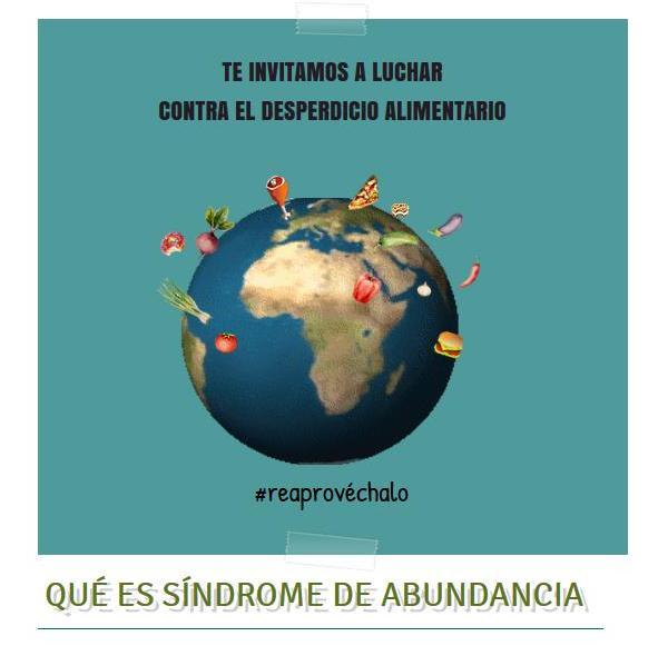 Un proyecto de #EducaciónAmbiental SÍNDROME DE ABUNDANCIA #reaprovechalo y ayuda el #MedioAmbiente https://t.co/7SYDrW0ycS https://t.co/W4ww2vg4pr