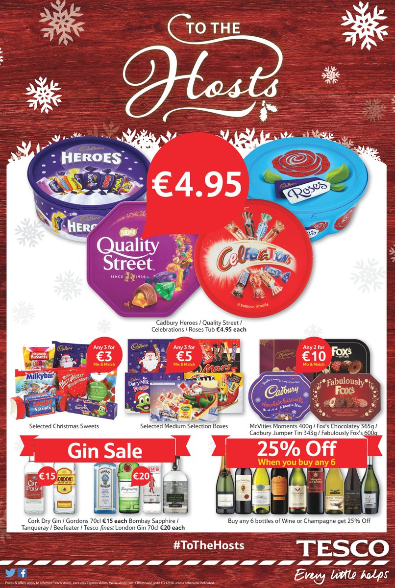 Tesco ireland on twitter looking for that perfect gift or a tesco ireland on twitter looking for that perfect gift or a special treat for yourself head in store today check out our amazing offers for the whole solutioingenieria Image collections