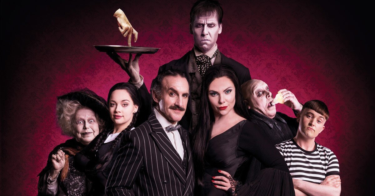 The Addams Family UK Cast