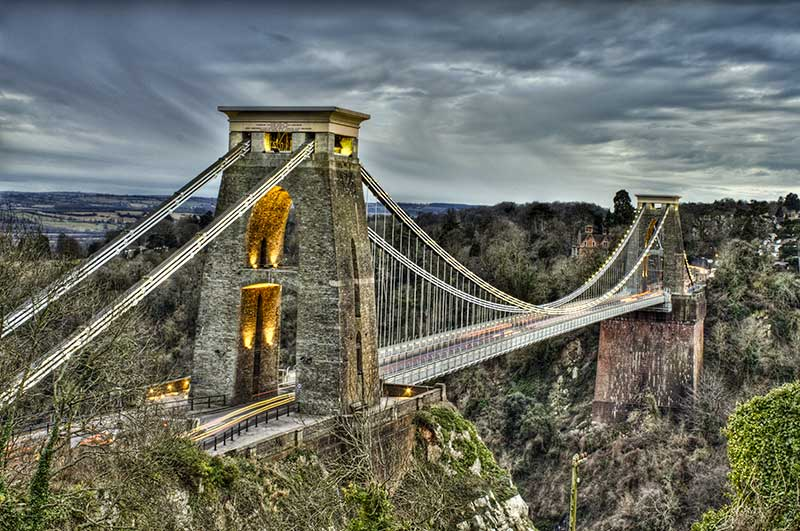 Happy Birthday to the Clifton suspension Bridge. It opened 152 years ago today. https://t.co/PmOmnRDrm1