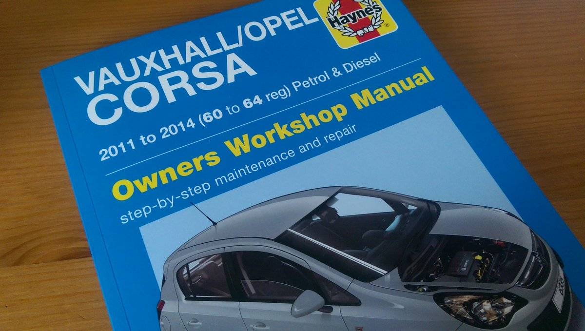 """Performance Vauxhall on Twitter: """"New #Haynes manual for #Corsa D out now.  320p hard copy and indexed colour digital version both available to order:  ..."""