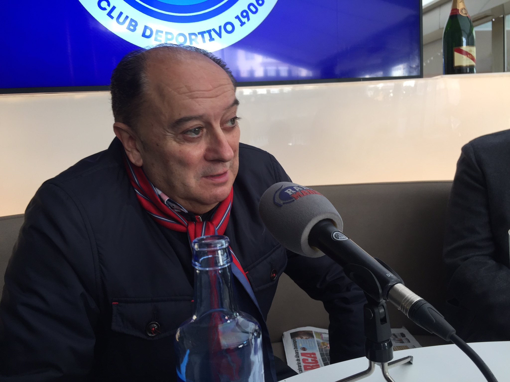 Barros Botana, en una entrevista en Radio MARCA (Foto: Radio MARCA).