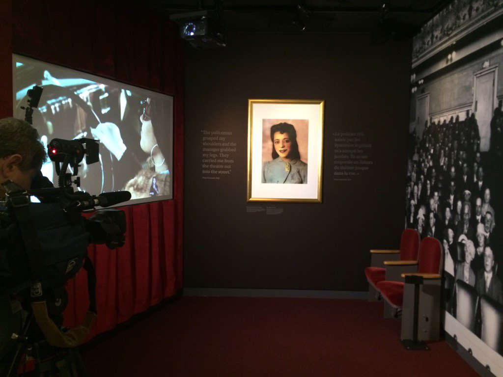 A decade before Rosa Parks challenged white laws, Canada's Viola Desmond did. Learn her story at the @CMHR_News