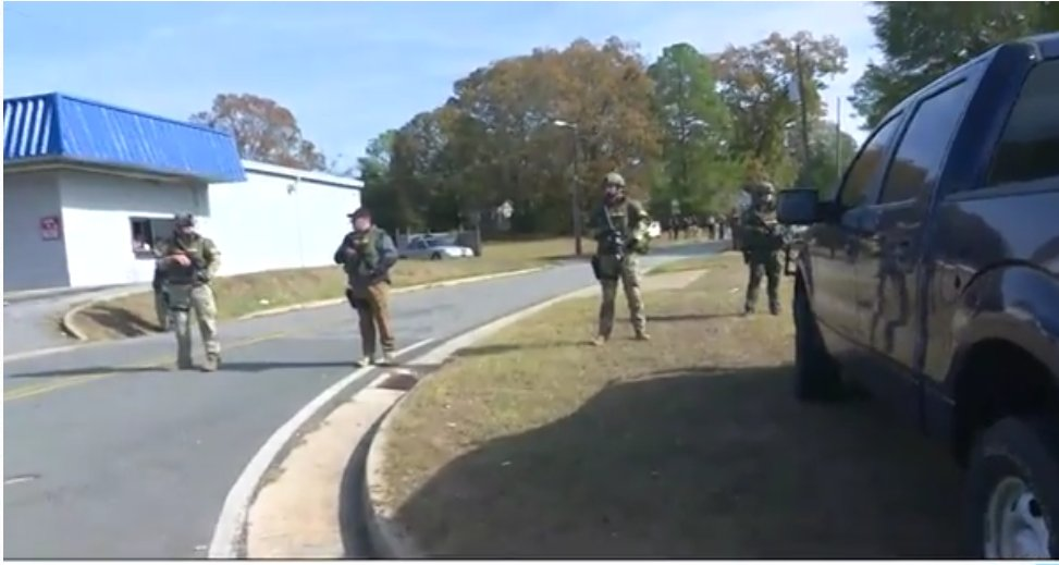@11AliveNews reports a suspect is dead in the manhunt for a suspected police killer.