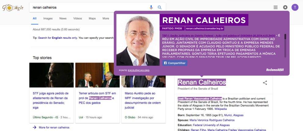 .@ReclameAQUI lança plugin p/ Chrome que pinta de roxo nome de políticos ficha-suja   https://t.co/lEdQ30WWej https://t.co/Q9PRNpkQ8U