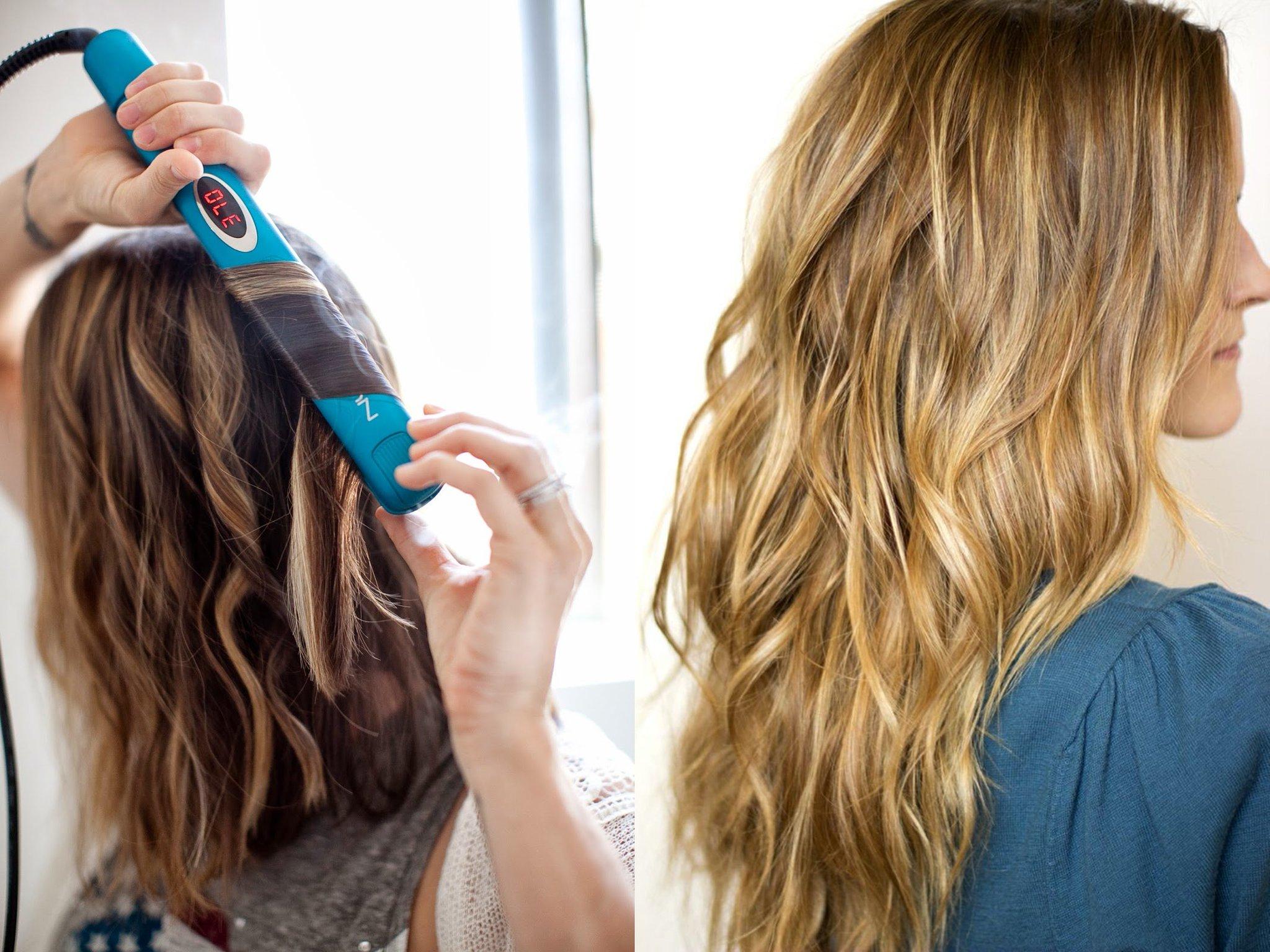 как завить волосы утюжком пошаговое фото музее работают