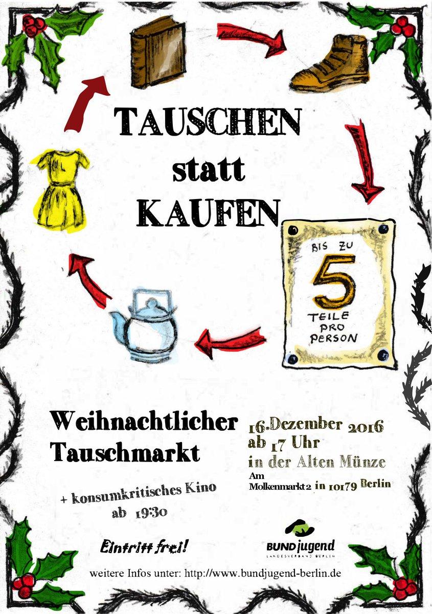 Bundjugend Berlin On Twitter Weihnachtsgeschenke Tauschen Statt