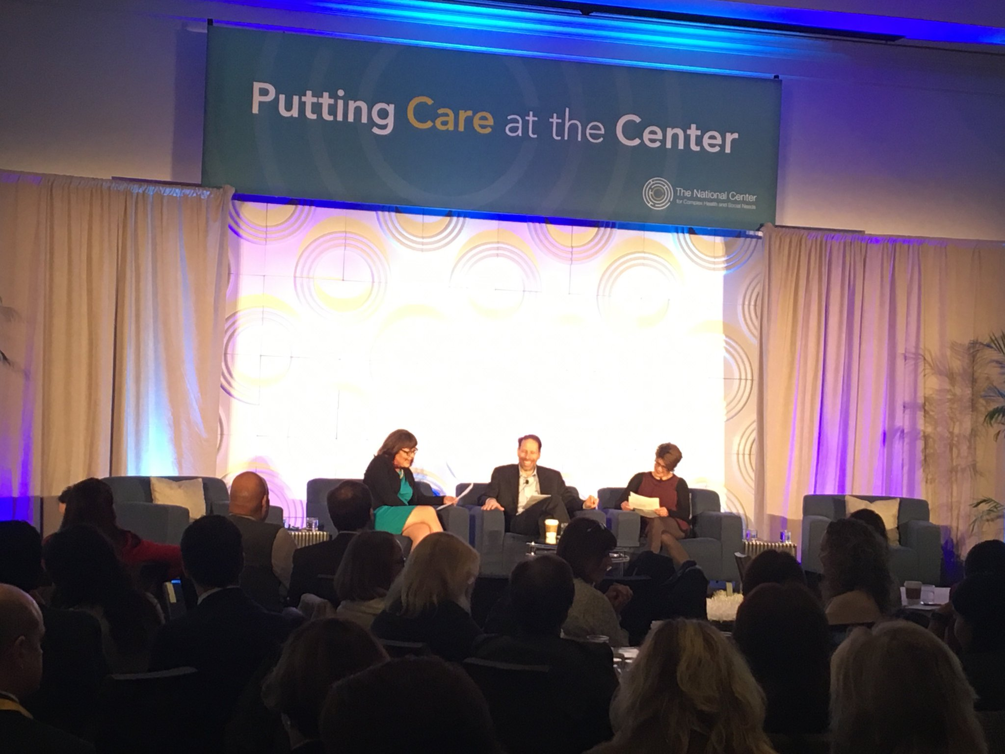 Dr. Jeff Brenner, Lauran Hardin, and Shelly Virva opening up #CenteringCare https://t.co/c4NEX1hjcZ
