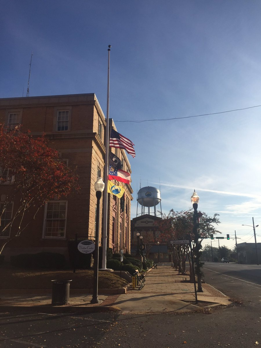 Americus Area Deaths >> Richard Elliot On Twitter Americus Flags Are At Half Staff As They