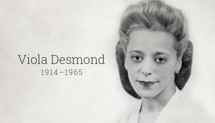 Nova Scotia's Viola Desmond will be the first Canadian woman featured on a bank-note. #bankNOTEable https://t.co/YIegS83rgI